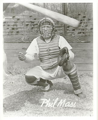Phil Masi Boston Braves LIMITED STOCK 8X10 Photo