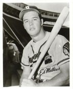 Eddie Mathews Boston Braves LIMITED STOCK 8X10 Photo