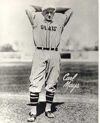 Carl Mays New York Giants LIMITED STOCK 8X10 Photo