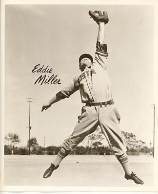 Eddie Miller Boston Braves LIMITED STOCK 8X10 Photo