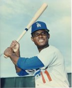Manny Mota LA Dodgers LIMITED STOCK 8X10 Photo