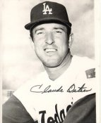 Claude Osteen LA Dodgers LIMITED STOCK 8X10 Photo