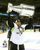 Bryan Rust with Cup 2016 Stanley Cup Champs Pittsburgh Penguins SATIN 8x10 Photo