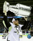 Patrick Hornqvist with Cup 2016 Stanley Cup Champs Pittsburgh Penguins SATIN 8x10 Photo