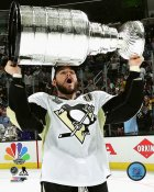 Chris Kunitz with Cup 2016 Stanley Cup Champs Pittsburgh Penguins SATIN 8x10 Photo