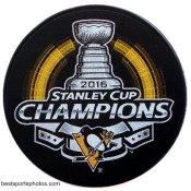 Penguins 2016 Puck Stanley Cup Hockey Puck
