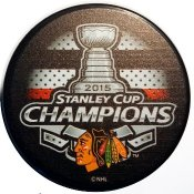 Blackhawks 2015 Puck Stanley Cup Hockey Puck