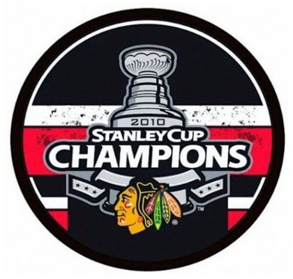 Blackhawks 2010 Puck Stanley Cup Hockey Puck