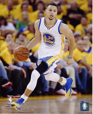 Stephen Curry 2016 NBA Finals Golden State Warriors SATIN 8X10 Photo LIMITED STOCK
