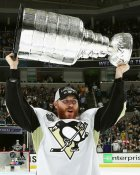 Ian Cole with Cup 2016 Stanley Cup Champs Pittsburgh Penguins SATIN 8x10 Photo LIMITED STOCK