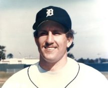 Lance Parrish Detroit Tigers LIMITED STOCK 8X10 Photo