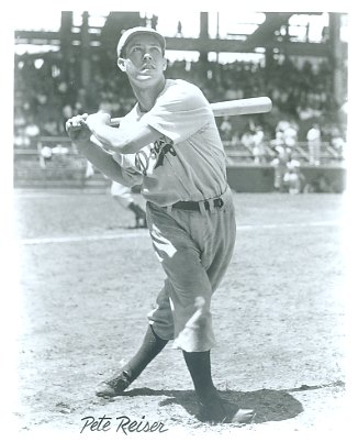 Pete Reiser Brooklyn Dodgers LIMITED STOCK 8X10 Photo