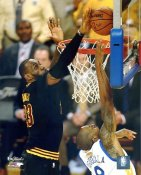 """Lebron James 2016 NBA Finals Game 7 """"The Block"""" Cleveland Cavaliers SATIN 8X10 Photo LIMITED STOCK"""
