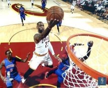 Lebron James 2016 Playoffs Cleveland Cavaliers SATIN 8X10 Photo LIMITED STOCK
