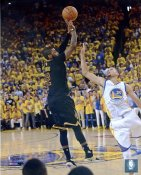 Kyrie Irving 2016 Finals 3 Point Shot Game 7 Cleveland Cavaliers SATIN 8X10 Photo LIMITED STOCK