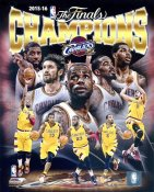 Cleveland Cavaliers 2016 Champions SATIN 8X10 Photo LIMITED STOCK