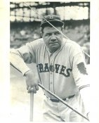 Babe Ruth Boston Braves LIMITED STOCK 8X10 Photo