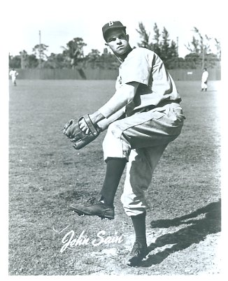 Johnny Sain Boston Braves LIMITED STOCK 8X10 Photo