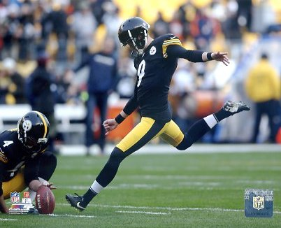 Chris Boswell Pittsburgh Steelers LIMITED STOCK SATIN 8X10 Photo