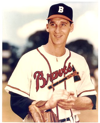 Warren Spahn Boston Braves LIMITED STOCK 8X10 Photo