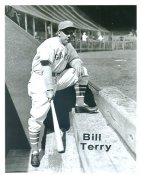 Bill Terry New York Giants LIMITED STOCK 8X10 Photo