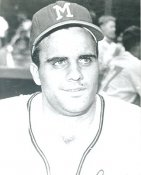 Joe Torre Milwaukee Braves LIMITED STOCK 8X10 Photo