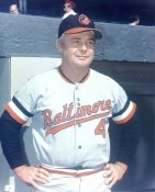 Earl Weaver Baltimore Orioles LIMITED STOCK 8X10 Photo