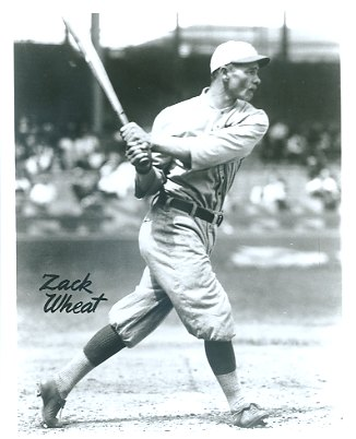 Zack Wheat Brooklyn Robins LIMITED STOCK 8X10 Photo