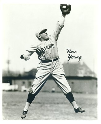 Ross Youngs New York Giants LIMITED STOCK 8X10 Photo