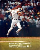 Robin Yount Milwaukee Brewers 3000th Hit LIMITED STOCK 8X10 Photo