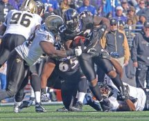 Willis McGahee Baltimore Ravens  LIMITED STOCK SATIN 8X10 Photo