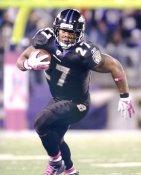 Ray Rice Baltimore Ravens LIMITED STOCK SATIN 8X10 Photo