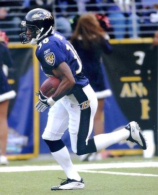 B.J. Sams Baltimore Ravens LIMITED STOCK SATIN 8X10 Photo