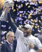 Ray Lewis Baltimore Ravens LIMITED STOCK SATIN 8X10 Photo
