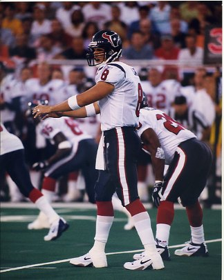 David Carr Houston Texans SUPER SALE 8X10 Photo