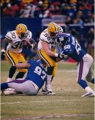 Mike Flanagan & Ahman Green Green Bay Packers LIMITED STOCK SATIN 8X10 Photo