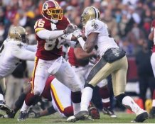 Fred Davis Washington Redskins LIMITED STOCK SATIN 8x10 Photo