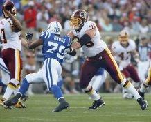 Jon Jansen Washington Redskins / Raheem Brock Colts LIMITED STOCK SATIN 8X10 Photo
