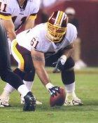Casey Rabach Washington Redskins LIMITED STOCK SATIN 8X10 Photo