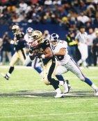 Deuce McAllister New Orleans Saints LIMITED STOCK 8x10 Photo
