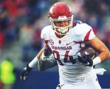 Hunter Henry Arkansas Razorbacks LIMITED STOCK SATIN 8X10 Photo