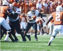 Chris Carson Oklahoma State Cowboys LIMITED STOCK SATIN 8x10 Photo