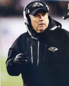 Dean Pees Baltimore Ravens LIMITED STOCK SATIN 8X10 Photo