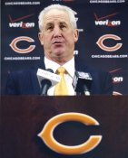 John Fox Chicago Bears LIMITED STOCK SATIN 8x10 Photo