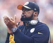 Mike Tomlin Pittsburgh Steelers LIMITED STOCK SATIN 8x10 Photo
