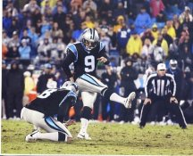 Graham Gano Carolina Panthers LIMITED STOCK SATIN 8X10 Photo