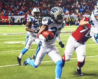 Tre Boston Carolina Panthers LIMITED STOCK SATIN 8X10 Photo