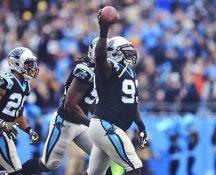 Kyle Love Carolina Panthers LIMITED STOCK SATIN 8X10 Photo