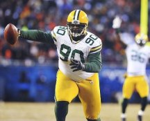 B.J. Raji Green Bay Packers LIMITED STOCK 8X10 Photo