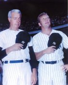 Joe DiMaggio & Mickey Mantle New York Yankees Glossy Paper Stock SUPER SALE 8X10 Photo